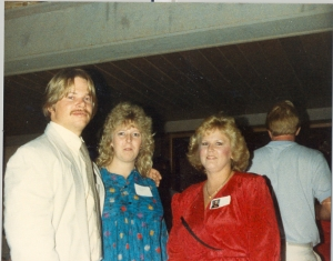 Dean and Suzie Walls and Cindy Schillig, 1988