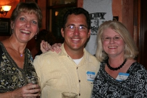 Judy Steigerwald, Brian Basik, Paula Thomas (This is a McCabes Picture, sorry)