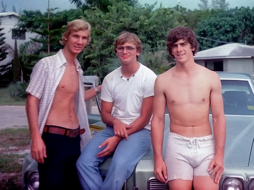 Scott Griffith, Shell Lanius, and Steve Nickel (The year was 1976)
