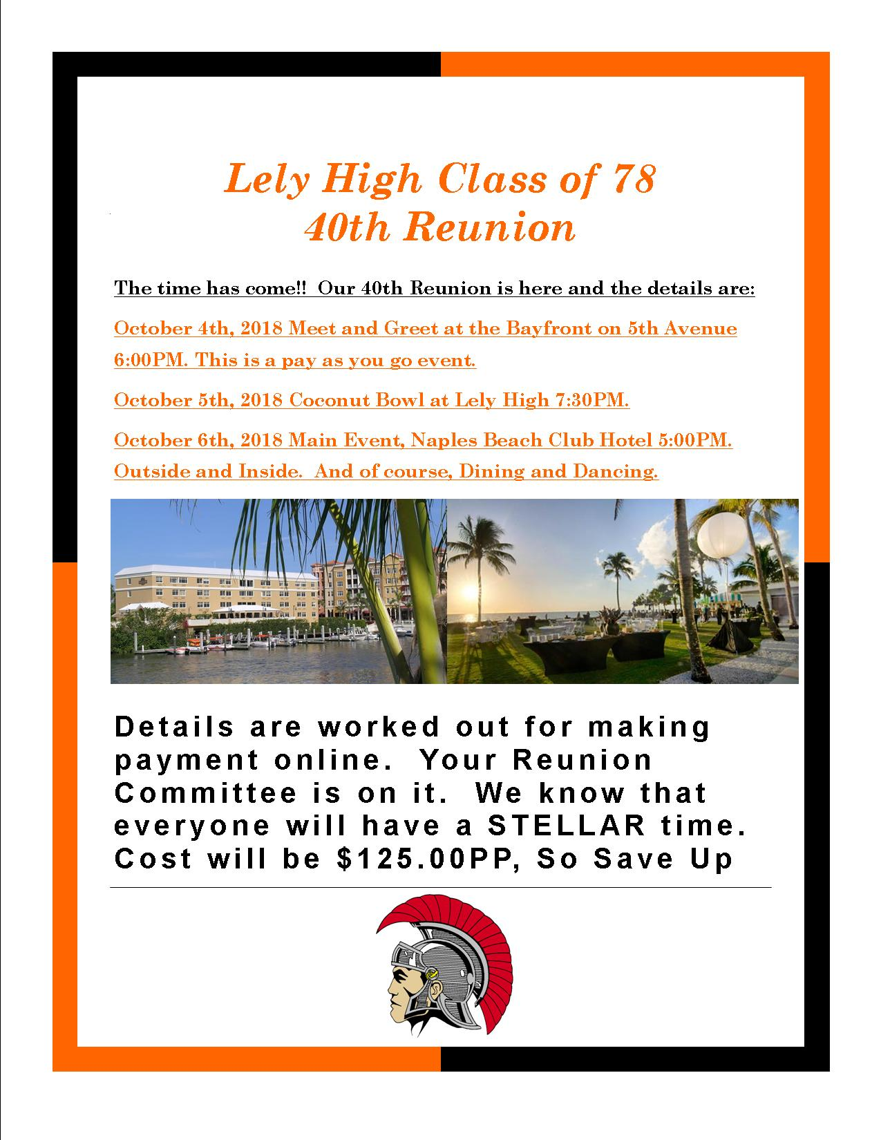 Lely High School - Class of 1978 Reunion