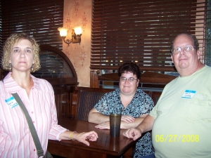 Debra Tucker, Larry Westers wife and Larry Wester