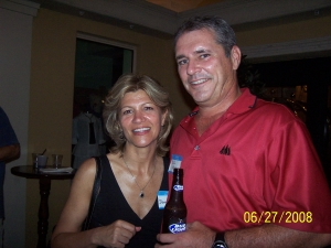 Donna Helton and Bill Marsh