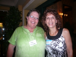 Kathy McNeese and Jeanne Miller
